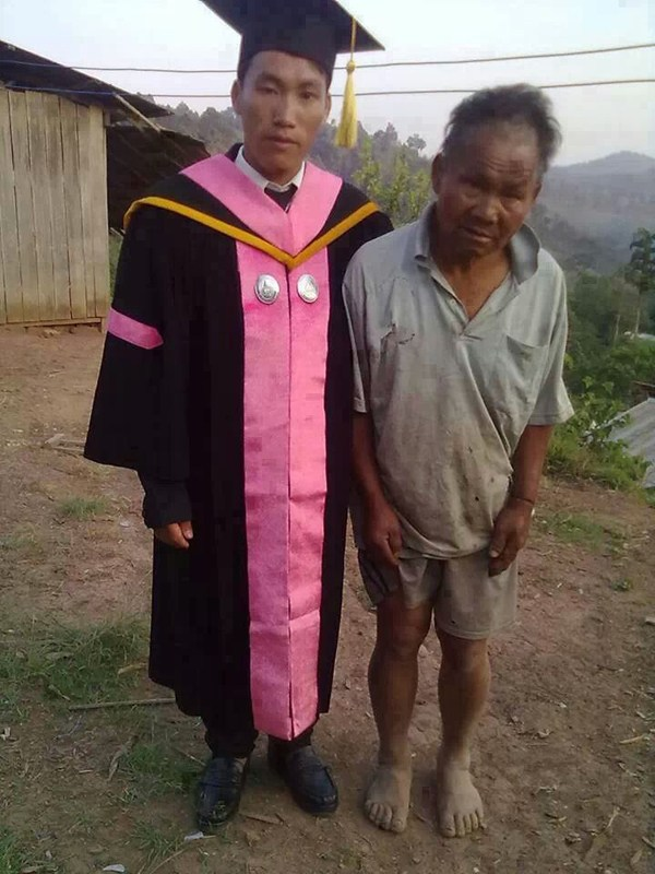 Thai Farmer Worked His Whole Life So His Son Could Go To College