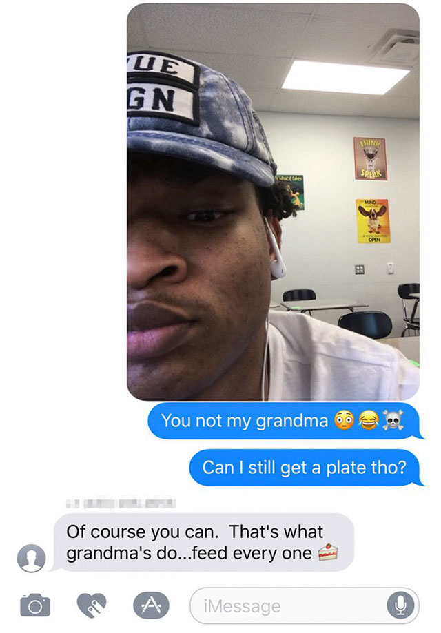 grandma invites stranger to thanksgiving